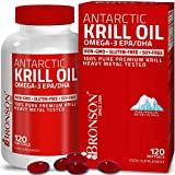 Antarctic Krill Oil with Omega-3s EPA, DHA, Astaxanthin and Phospholipids – 100% Pure