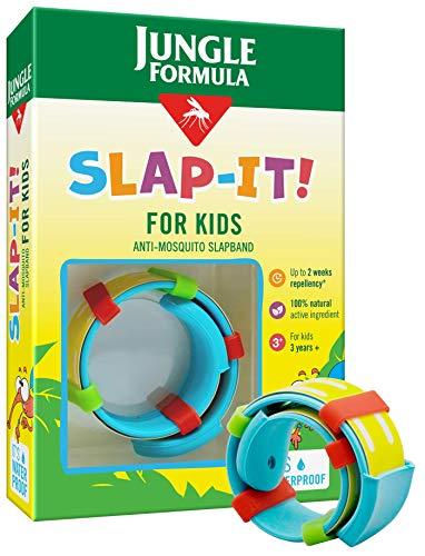 Jungle Formula Insect Repellent Bracelet for Kids, Mosquito Repellent Slap Band, Waterproof