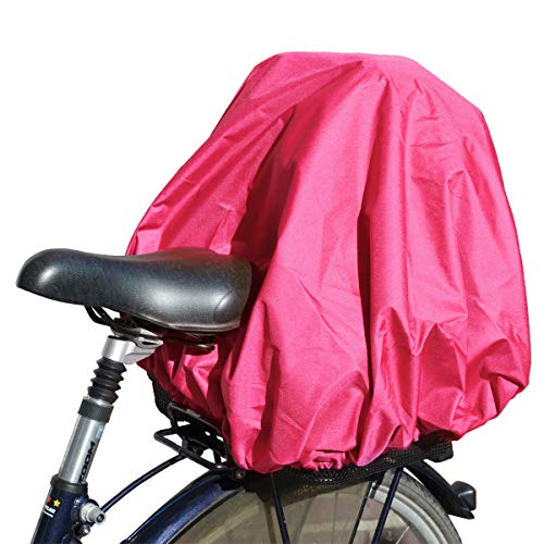 NICE'n'DRY Abdeckung und Regenschutz für Fahrradkorb XXL, pink