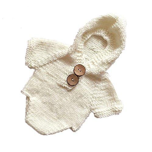 Butterme Neugeborenes Jungen Mädchen Baby Häkelarbeit Strick Kostüm Outfits Fotografie Stützen Spielanzug