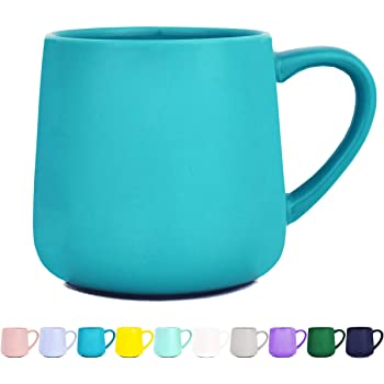 BEGONDIS Coffee Mug Ceramic Gradient Ombr/é Color Elegant Matte Tea Cup Perfect Gift For Family and Friend 11.5oz