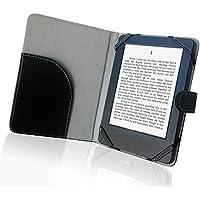 """Libro Estilo Litch Funda de Piel sintética para Lector de eBook 6""""Carcasa para Sony/Kobo/Pocketbook/Nook/Tolino Shine 6Pulgadas Ebook Reader"""