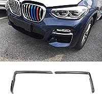 Fit For BMW 新型 X3 Mスポーツ(2018現行)専用 外装 フロント グリル フォグ ランプ ガーニッシュ ベゼル カバー BMW X3 M Sport 三代目 G01 専用設計