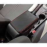 YEE PIN V W Polo MK6 / Seat Ibiza Typ 6F Hatchback/Seat Arona SUV Reposabrazos Caja Cuero Cubierta, Apoyabrazos de Consola Central Funda de Protección de Superficie Interior Accesorios