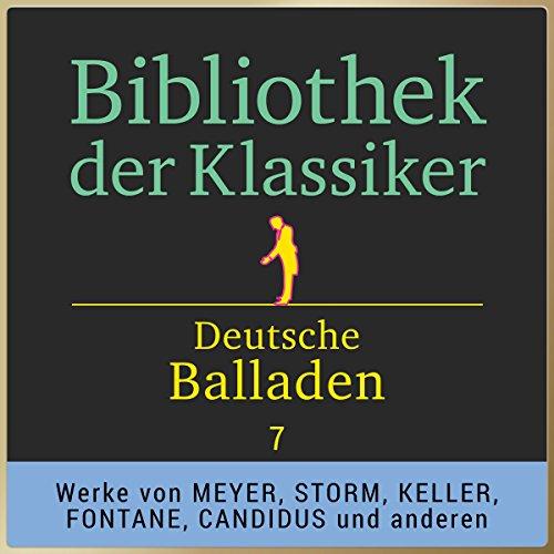 Deutsche Balladen, Teil 7 (Bibliothek der Klassiker) Titelbild