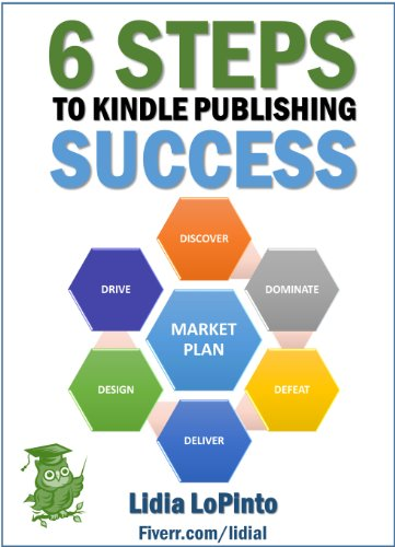 Amazon Com 6 Steps To Kindle Publishing Success A Proven Plan To Increase Sales With Amazon Passive Traffic Kindle Selling Book 1 Ebook Lopinto Lidia Blog Kindleselling Com Kindle Store