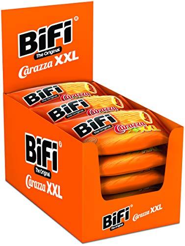BiFi Carazza Original XXL – 16er Pack (16 x 75 g) – Herzhafter Pizzasnack zum Mitnehmen