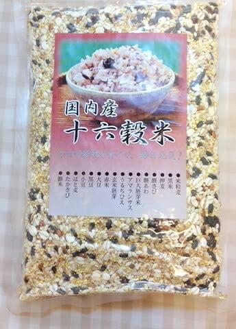 富士食品 国内産 十六穀米 300g×2個              JAN:4907577011261