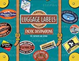 Exotic Destinations Luggage Labels: Travel Stickers