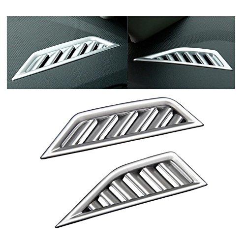 Emblem Trading Luftdüsen Lüftungs Rahmen Blende Abdeckung ABS Kunststoff Chrom Passend Für Tiguan 2 AD1 ab 2016