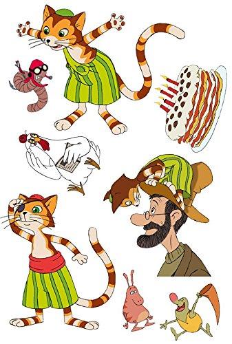 Tattoos * PETTERSSON & FINDUS * für Kinder und Fans // Kindertattoo Kindergeburtstag Geburtstag Mitgebsel