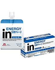 inゼリー エネルギー マスカット味 (180g×6個) すばやいエネルギー補給 10秒チャージ ビタミンC配合 エネルギー180kcal