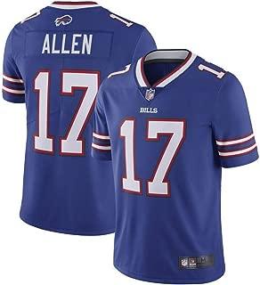 One Size Forever Collectibles NFL Buffalo Bills Mens Buffalo Bills Josh Allen Bobble 2018 NFL Draft Pick #7Buffalo Bills Josh Allen Bobble 2018 NFL Draft Pick #7 Team Colors