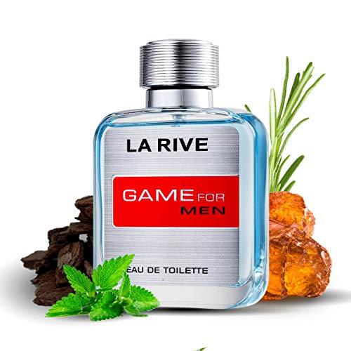 La Rive Game for Men 100ml/3.3oz Eau De Toilette Spray Cologne Fragrance for Him