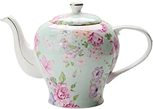 Theepot, Engelse stijl theeset, vergulde rand handgemaakte theepot, koffiepot, voor geschenken/bruiloft/familie/hotel 1400...