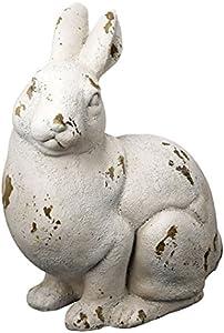 "A&B Home Group Magnesia Rabbit Statue 13""x9""x15"""