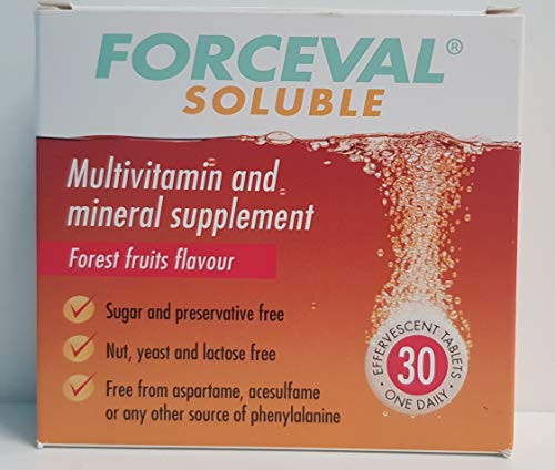 Forceval Soluble Multivitamin and Mineral Food Supplement, 185 g