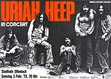 Uriah Heep - Sweet Freedom 1973 - Poster Plakat