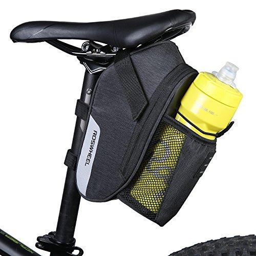 Dccn bicicleta marco bolsa sillín bolsa portaequipajes