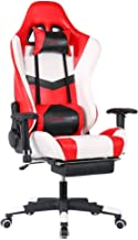 E-Sports Chair Heavy Metal Reclining High-Back Chair Frame Video Game Home Office Computer Office Furniture for Working Ga...