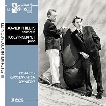 Schnittke, Shostakovitch & Prokofiev:  Cello Sonatas