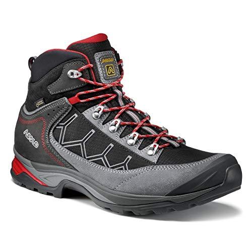 Asolo Men's Falcon GV Hiking Boot Grey/Black 12