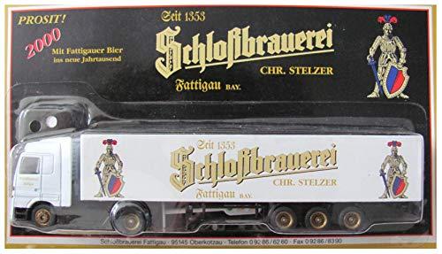 Schloßbrauerei Fattigau Nr.01 - Mit Fattigauer Bier Jahrtausend - MB Actros - Sattelzug