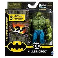 スピンマスター DCコミックス 4インチ アクションフィギュア ミステリー・アクセサリーパック キラークロック / SPIN MASTER 2020 DC COMICS 4inch KILLER CROC [並行輸入品]