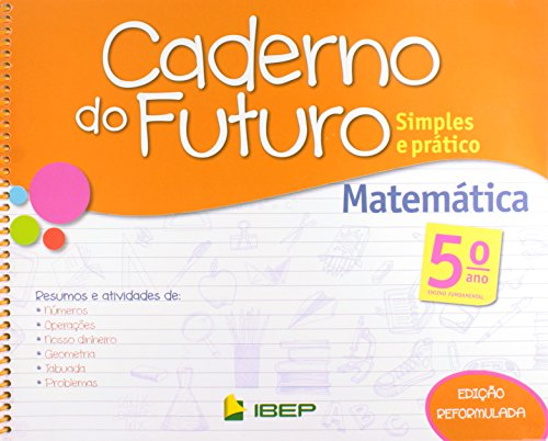 Caderno do Futuro Matemática. 5º Ano