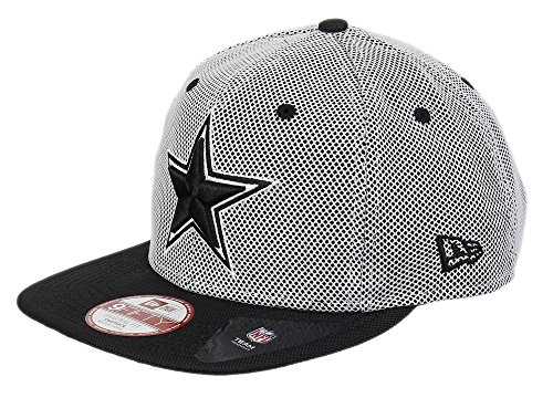 New era Dallas Cowboys Original Snapback Nylon Mesh Black White/Black - M - L