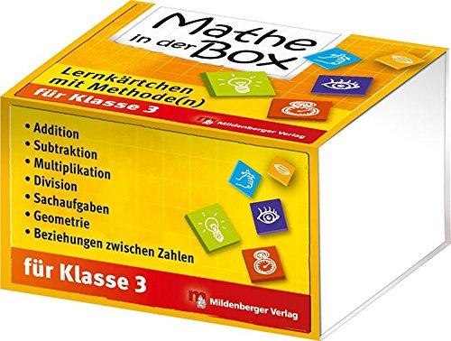 Mathe in der Box – Lernkärtchen mit Methode(n), Klasse 3