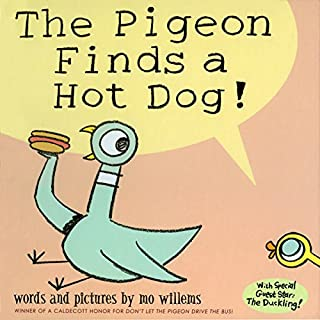 The Pigeon Finds a Hot Dog! cover art