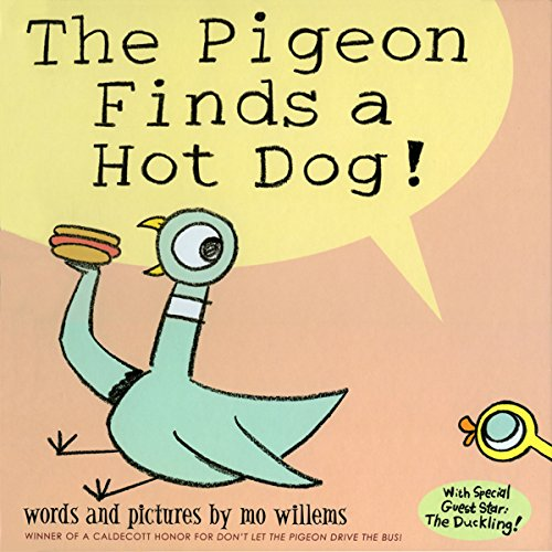 The Pigeon Finds a Hot Dog! audiobook cover art