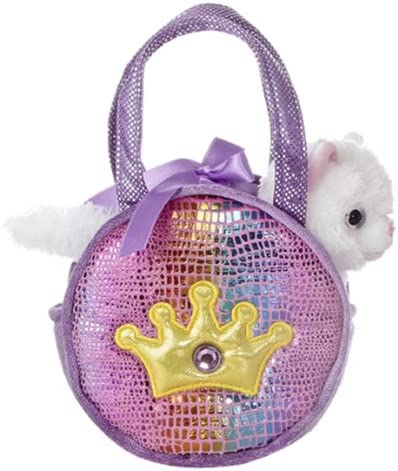 Aurora World Shimmery Fancy Pals Purple with Pet Mail order Large special price Plush Toy Crown
