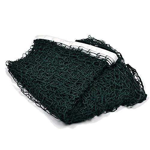 UxradG Tennis- / Badmintonnetz, multifunktionales Netz, verstellbar, faltbar, für Badminton- / Tennis- / Volleyballnetz, geeignet für Familienunterhaltung, grün