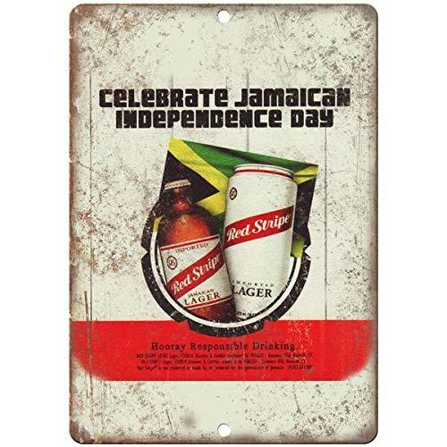 VEHFA Red Stripe Jamaican Lager Vintage Beer Ad 8