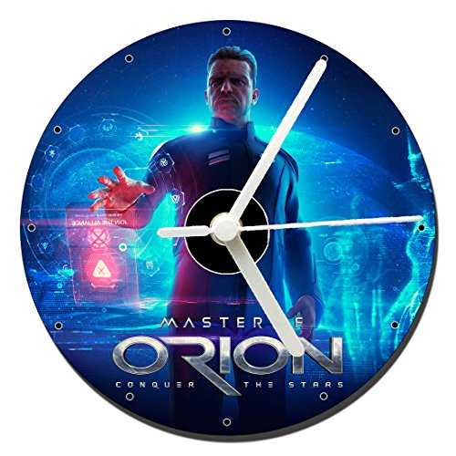 Master of Orion Conquer The Stars Tischuhren CD Clock 12cm