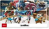 Legend of Zelda Amiibo: Urbosa / Revali / Mipha / Daruk Figure! Figura de acción Legend of Zelda Game Masters Breath of The Wild Japan Import / 3DS / WiiU / Switch Figura Coleccionable