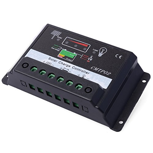 XCSOURCE® 30A 12V/24V PWM Régulateur Contrôleur de charge du batterie de panneau de batterie solaire LD293