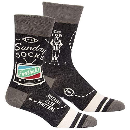 Preisvergleich Produktbild Sunday Socks. Football - Nothing Else Matters - Soft Combed Cotton Socks - Men's Crew