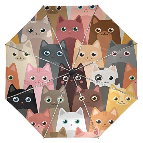 Cute Kitty Cats Umbrella