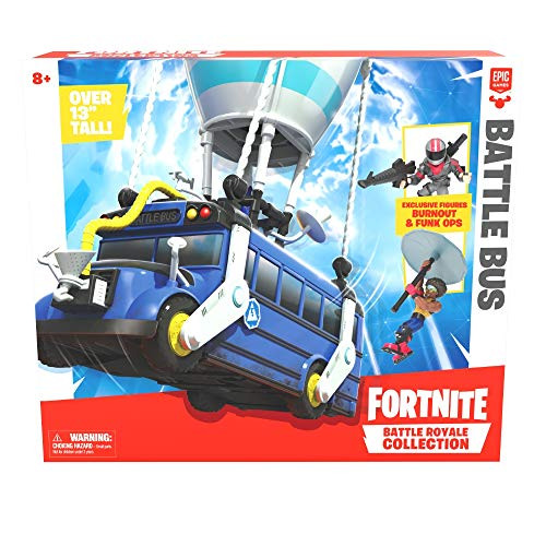 Fortnite- Battle bus + figuur (Giochi Preziosi FRT35000)