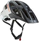 Cratoni Fahrradhelm AllSet, Black-Grey-White Matt, S-M