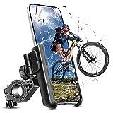 OUTHIKER Soporte Movil Bicicleta, Soporte Motocicleta Rotación 360° Soporte Manillar para iPhone 12 Mini, 12 Pro MAX, 11 Pro, XS MAX, XR, X, 8, 7, 6S, Samsung S10 S9 S8, Huawei, 3.5'-7.0' Smartphones