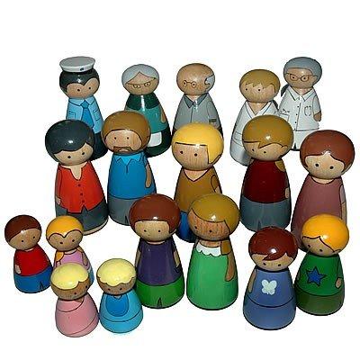 Menschen - Kinder Spielfiguren