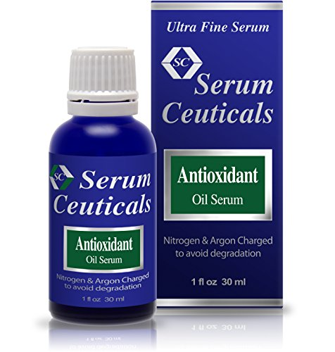 Retinol, Vitamin E, Vitamin C, Beta Carotene, CoQ-10 Oil-Based Antioxidant Serum Preventing Skin Troubles of Ageing, Fine Lines, Deep Wrinkles, Age Spots, Dull Skin, Flabby and Sagged Skin, Acne, Pimples & Blemish.