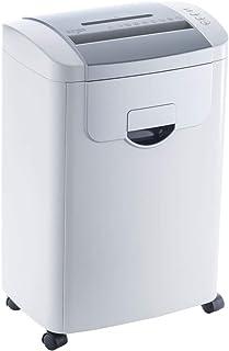 iCODIS シュレッダー 業務用 Q7 2x12mmクロスカット 最大細断8枚 使用時間15分 CD・カード細断可能 22L大容量 家庭用 超静音 コンパクト ホワイト