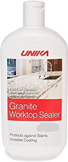 Granite Worktop Sealer - Protects against Water, Oil and Stains - Transparent, Vapour Permeable protection, Invisible coat...