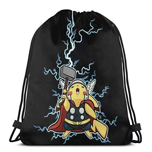 zicheng Classic Drawstring Bag- Gym Backpack Shoulder Bags Sport Storage Bag for Man Women