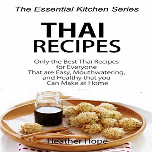 Thai Recipes audiobook cover art